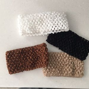 Accessories - Four Stretchy Headbands